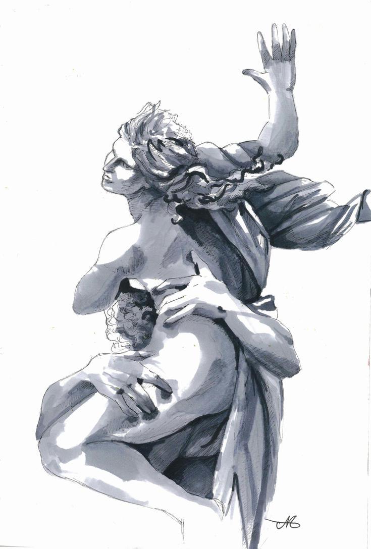 The Rape of Proserpina by grecioslaw