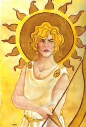 Huevember Day 3 :Apollo by grecioslaw