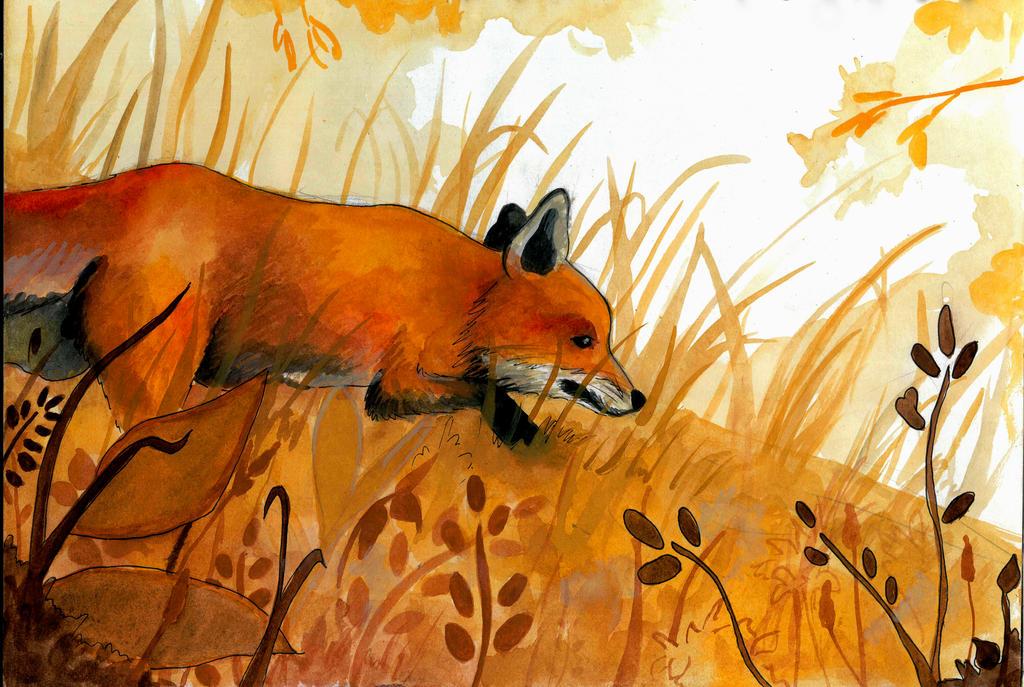Huevember Day 5: Fox by grecioslaw