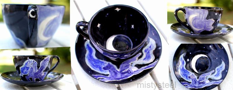 MLP Luna Tea Cup by mistysteel