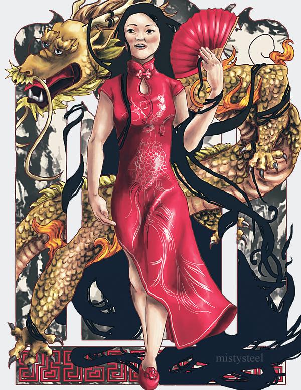Xie Qiuping by mistysteel