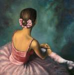Seated Ballerina by davinci3835