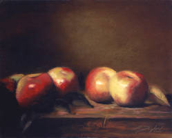 'Four Apples' by davinci3835