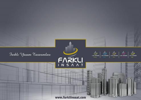 Farkli Insaat Catalog Cover By Zarif BALCI