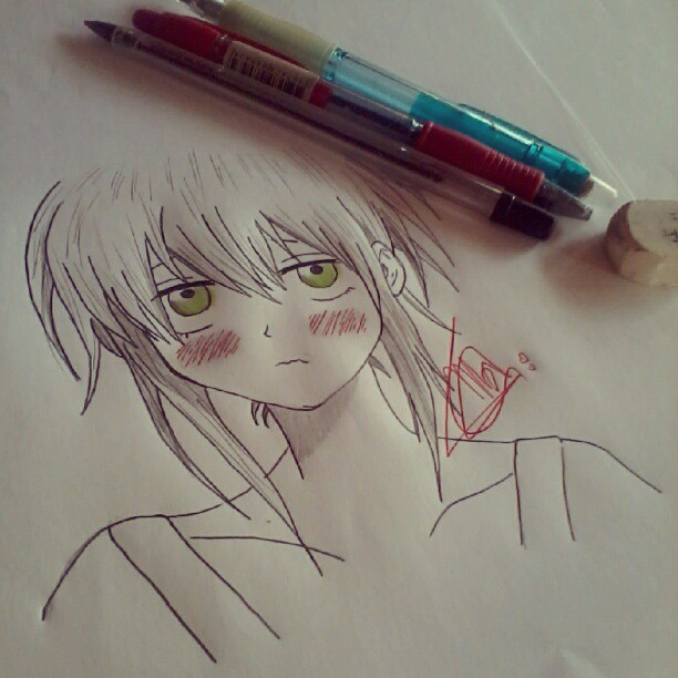 Hidra Bell, Blood Lad - Drawing by me s2 by MahXavier
