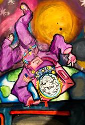 Pestal Astronaut by MushroomMushi