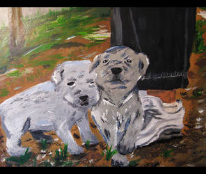Pup-Painting