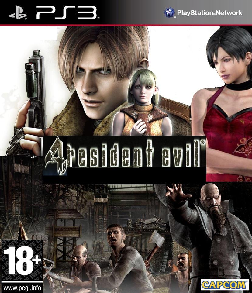 Kết quả hình ảnh cho Resident evil 4 cover ps3