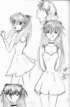 Asuka Drawings