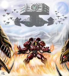 Starcraft - Firebat hero