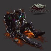 Zebesian Roach by AzakaChi-RD-17