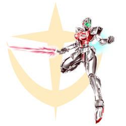 Gundam Girl:  GM Command