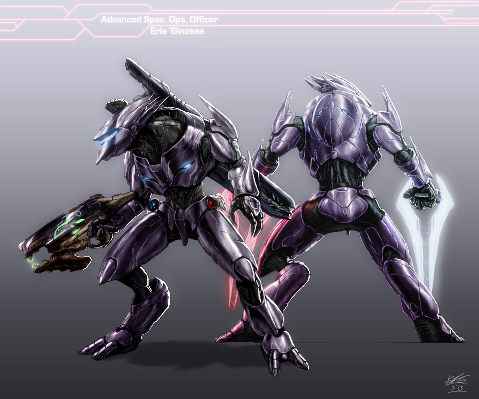 Halo - Character Request - Erle ' Ginosee