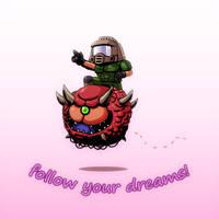 Follow your dreams by AzakaChi-RD-17