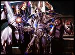 Starcraft II - Bar Scene by AzakaChi-RD-17