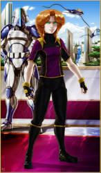 LAND - Elayendii plain clothes outfit model