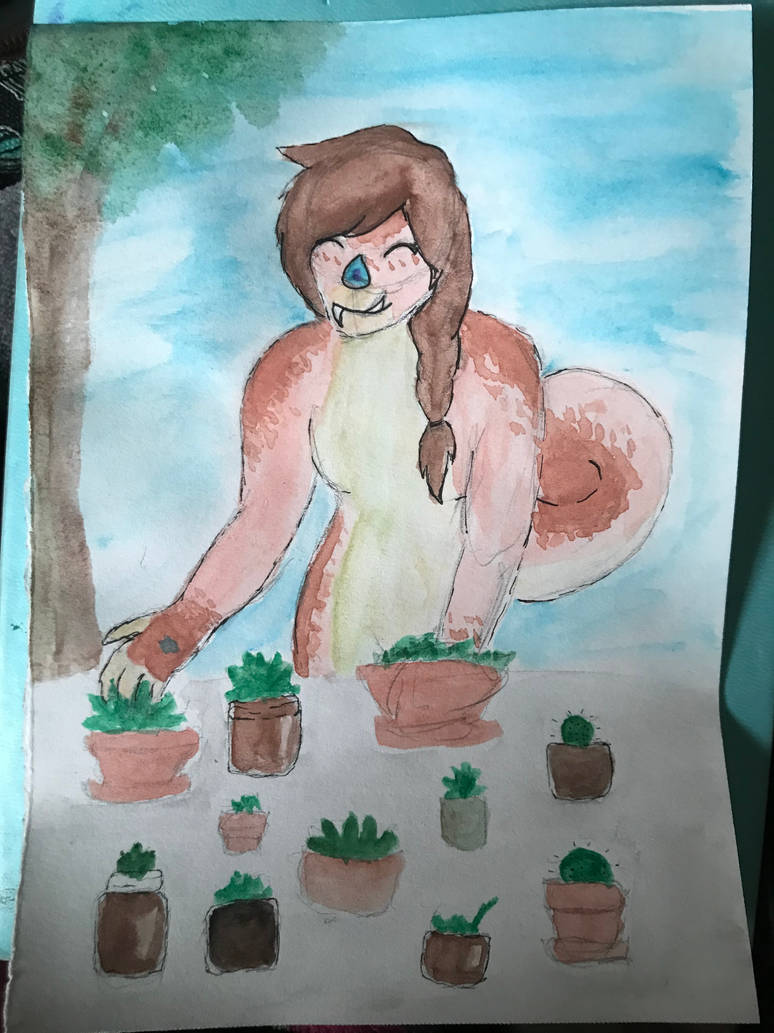 happy plants myo prompt by XanderGirl96