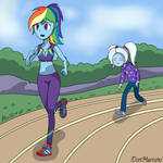 Rainbow Dash and Trixie