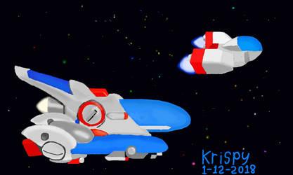 The ships of Aicom by krispy1264
