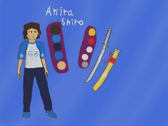 Akira Shiro OC reference by krispy1264