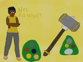 Nel Kalahari OC reference by krispy1264