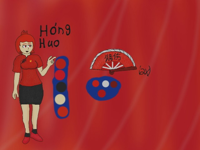 Hong Hou OC reference by krispy1264