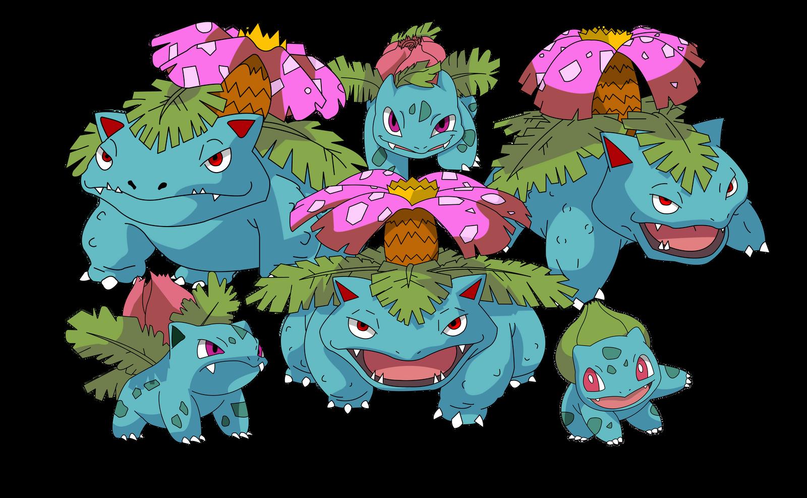 Bulbasaur Evolution | Pokemon | Pinterest | Evolution