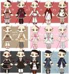Valentines Outfits! $5/500 points (Open) by Nuggiez