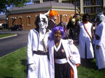 Yoruichi and Ulquiorra