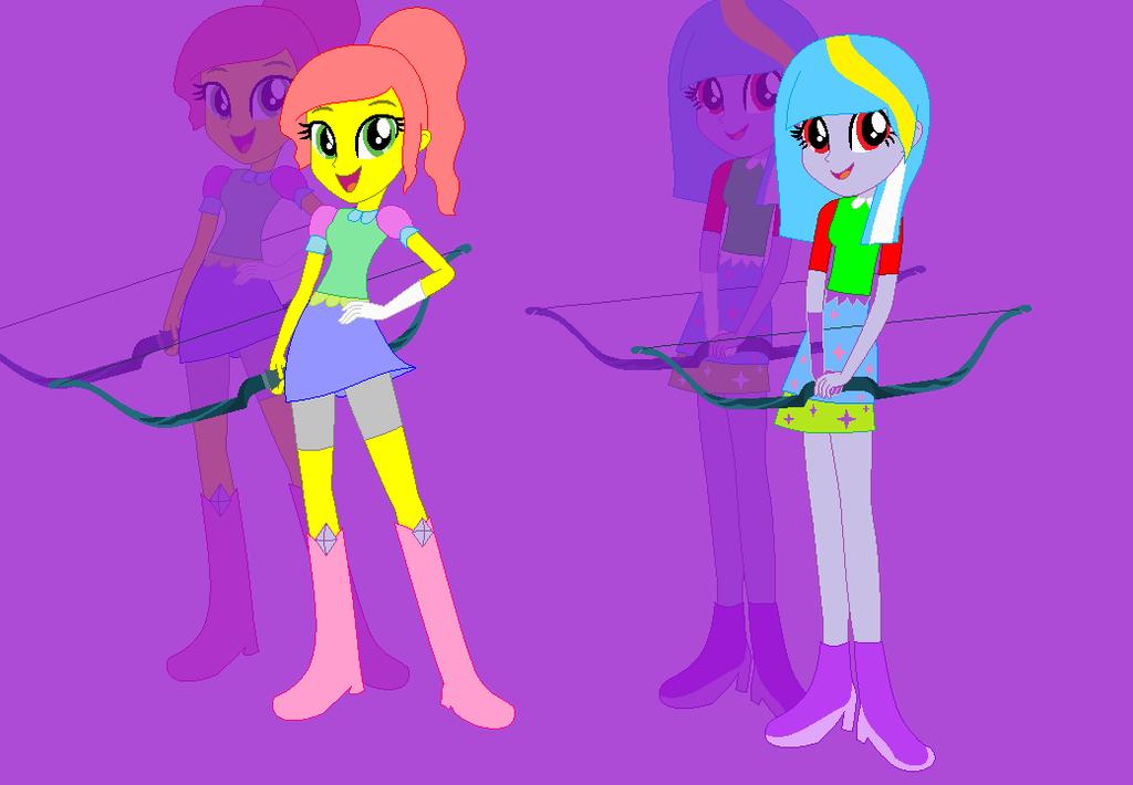 Archery Lollipop and Glitter Shine by xXkerrysweetXx