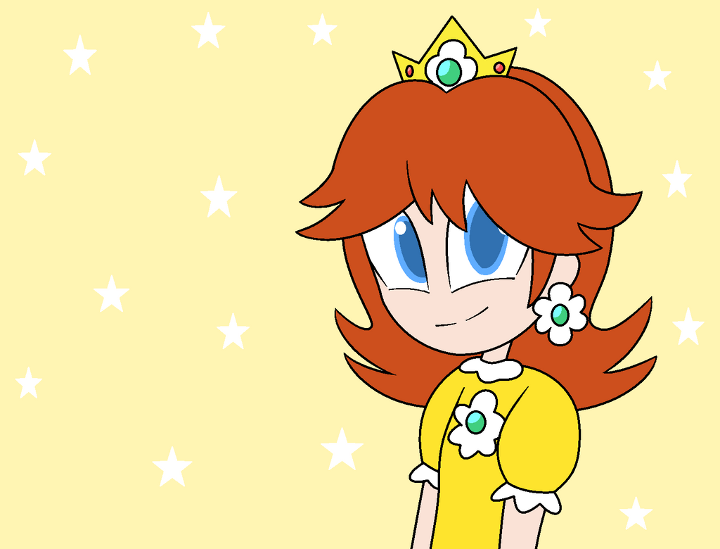 Princess Daisy by xXkerrysweetXx