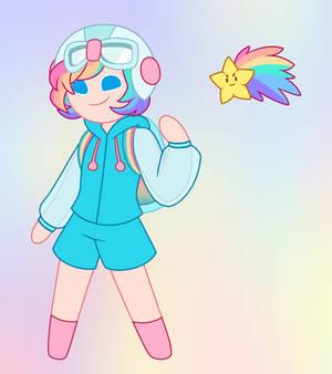 Rainbow Delight Cookie