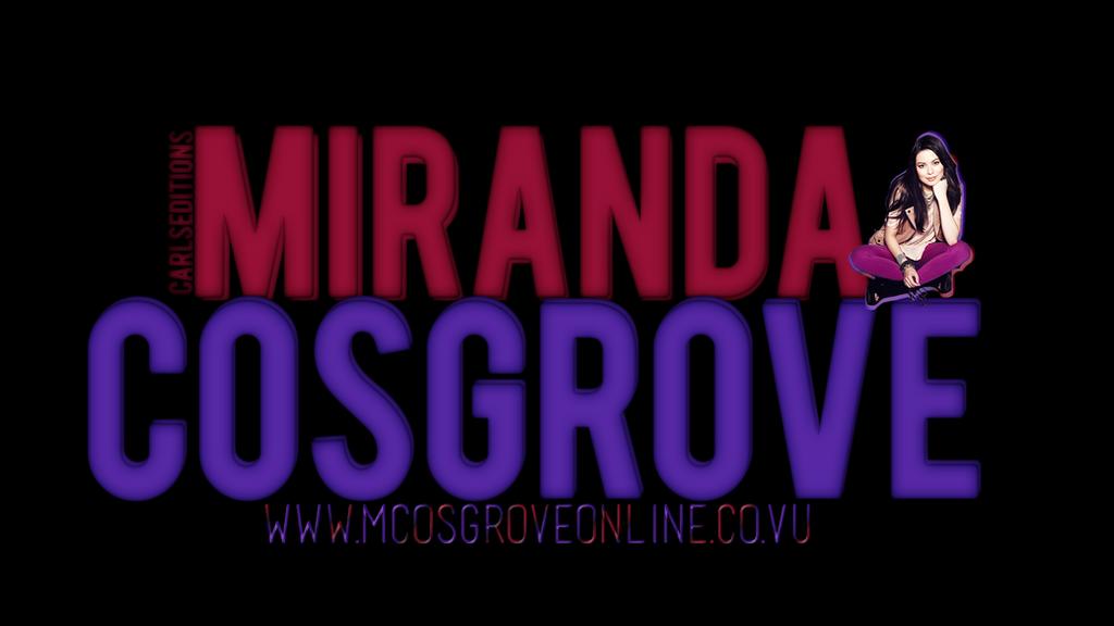 Wallpaper Miranda cosgrove by Carls-Editions