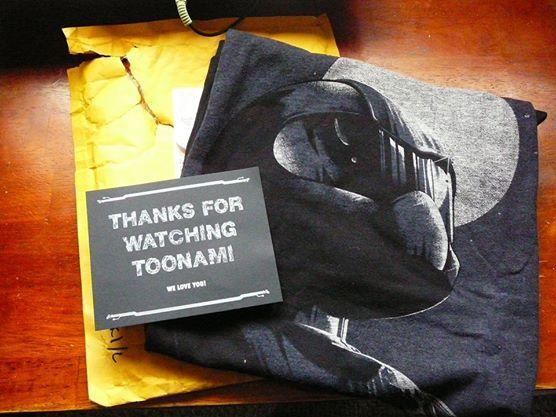 Toonami Contest Prize by Satanizmihomedog