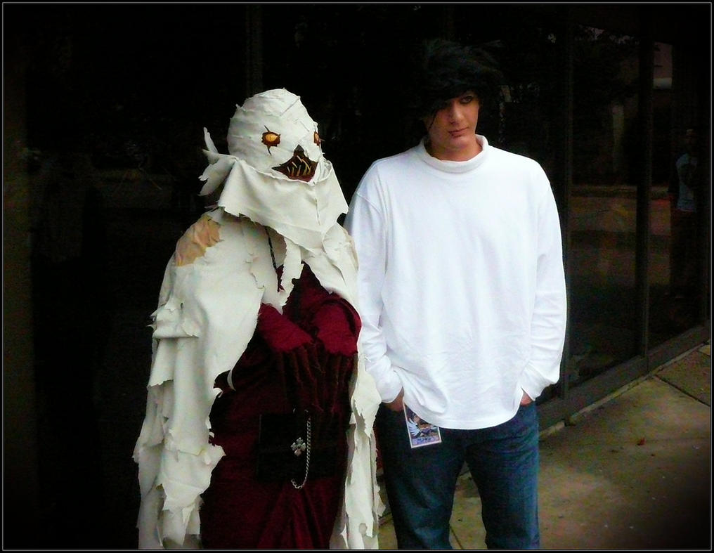 Death Note Sidoh and L by Satanizmihomedog