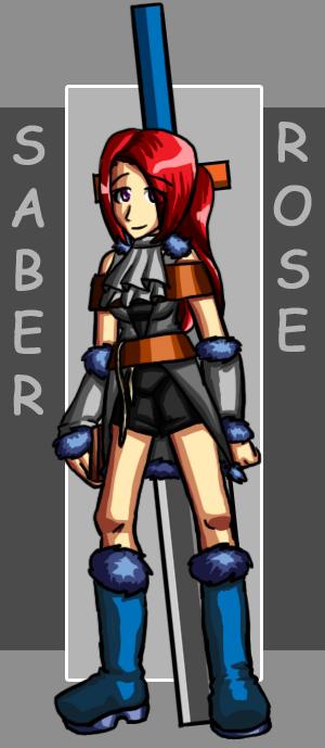 Saber Rose by Kylias