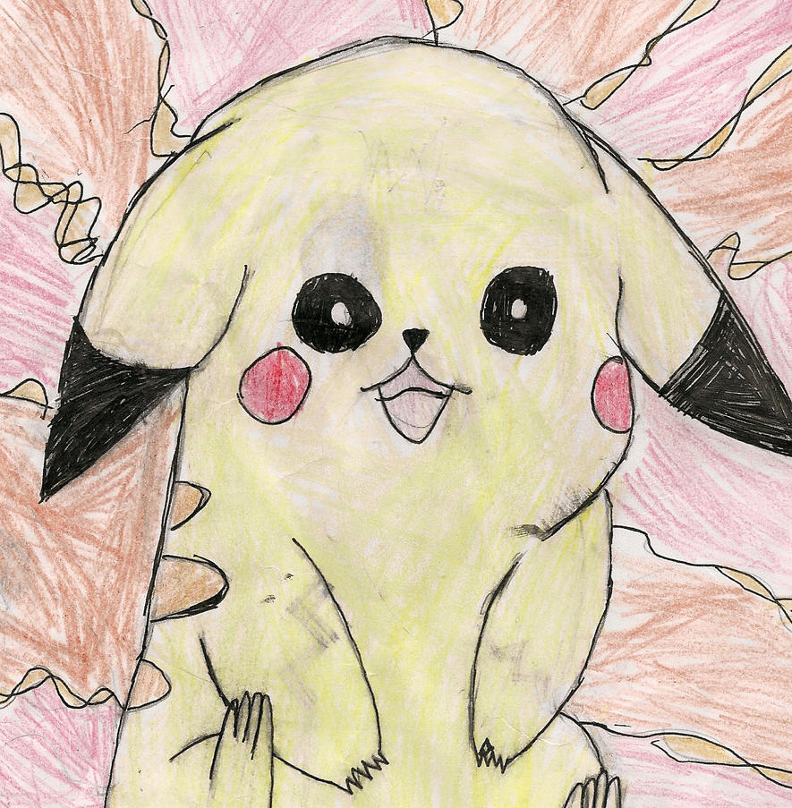Random Pikachu by Wurmple4eva
