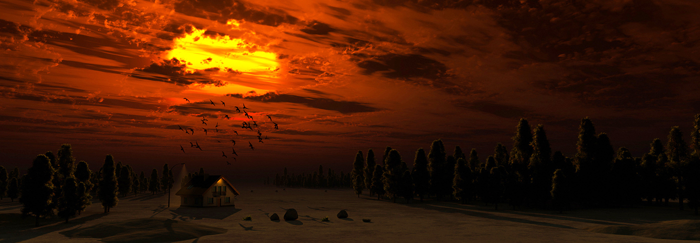 Calm Night by EYADSTUDIO