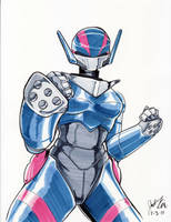 Bubblegum Crisis Priss by julesrivera