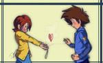 I want Sora's love too