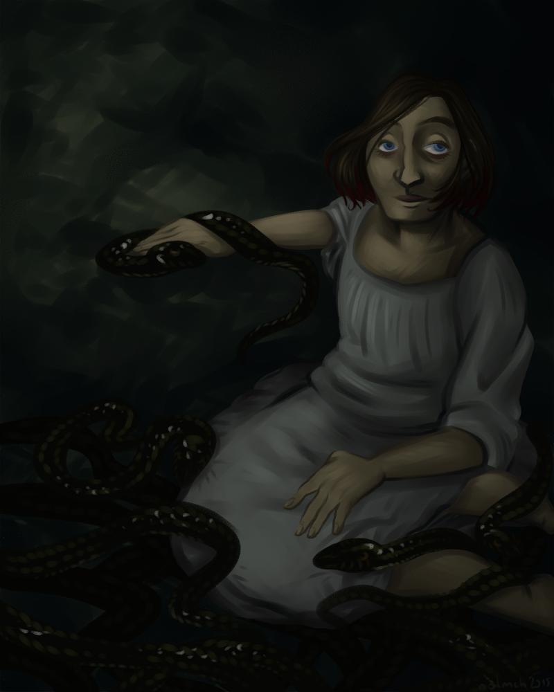 Medusa by Tellim-Komachi