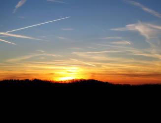Sunset by iamkera