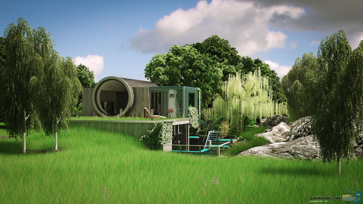 3ds max exterior 2 by puttee on deviantart for Exterior 3ds max model