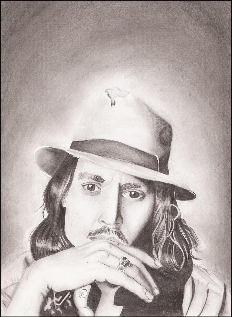 Johnny Depp by Cziiczi