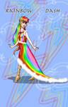 Rainbow Dash's new dress