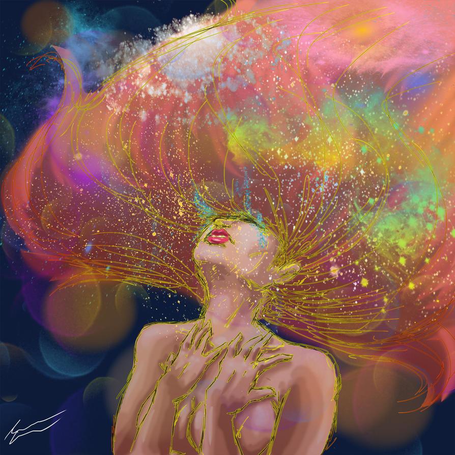 Her Soul Is A Galaxy by XxCommanderShepardxX
