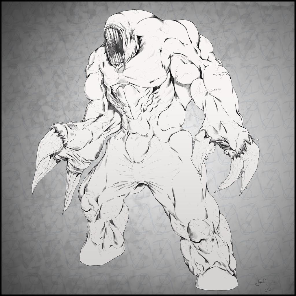 Quake Shambler by SabreWing