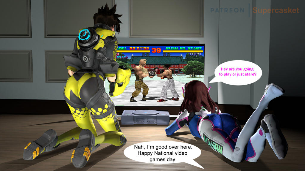 Happy Video Games Day by Stormdrexo