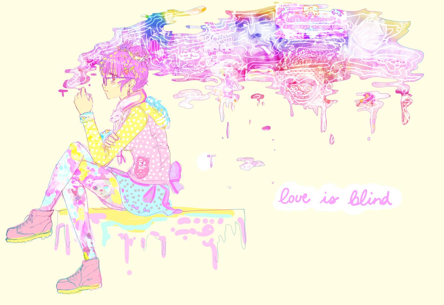 Love is blind by oceantann