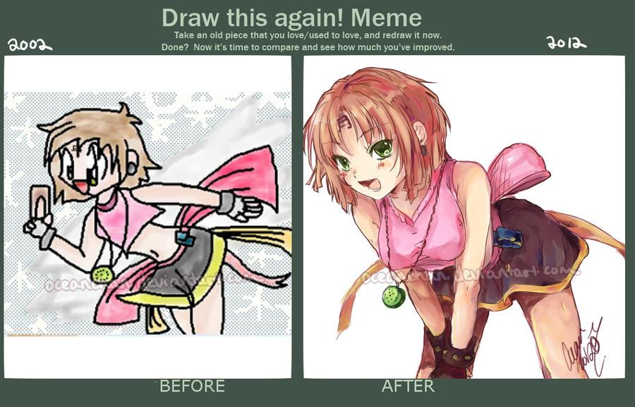 Draw This Again Meme #2 by oceantann